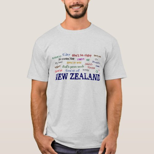 NEW ZEALAND EXPRESSIONS T_shirt
