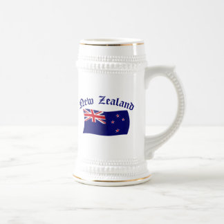 New Zealand Flag - 1 Beer Stein