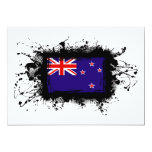 New Zealand Flag 5x7 Paper Invitation Card