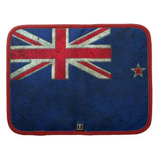 New Zealand Flag Aged Steel Effect Organizer
