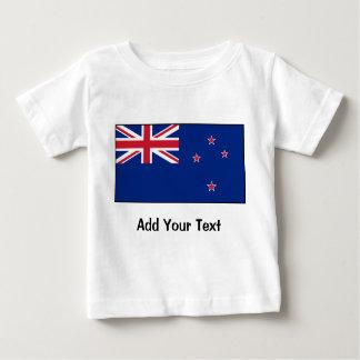 New Zealand Flag Baby T-Shirt