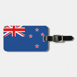 New Zealand Flag Bag Tag