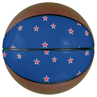 New Zealand Flag Basketball