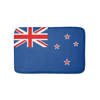 New Zealand Flag Bathroom Mat