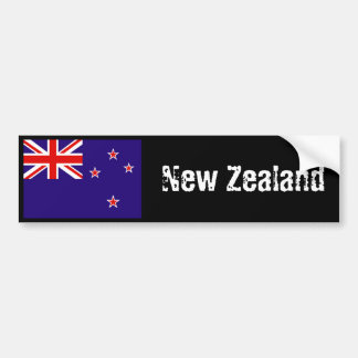 New Zealand flag bumper sticker