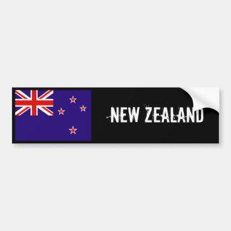New Zealand flag bumper sticker 2