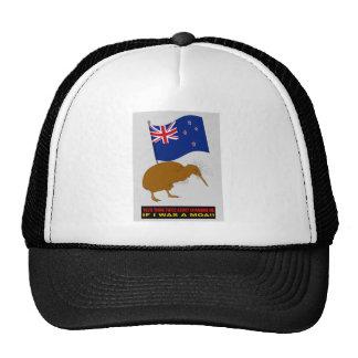 NEW ZEALAND FLAG CHANGE TRUCKER HAT