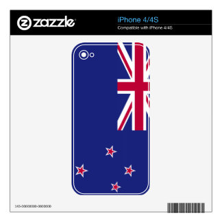 New Zealand Flag Decal For The iPhone 4S