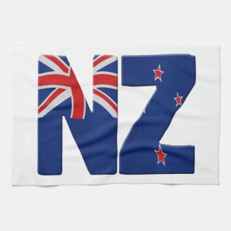 New Zealand flag Hand Towels