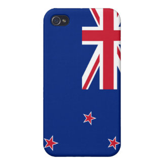 New Zealand Flag iPhone Cover For iPhone 4