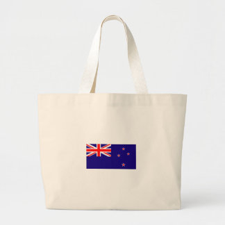 NEW ZEALAND FLAG LARGE TOTE BAG