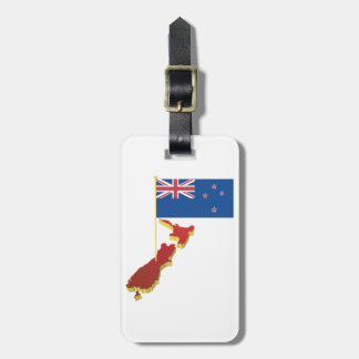 New Zealand Flag Luggage Tags