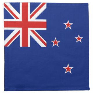 New Zealand Flag Napkin