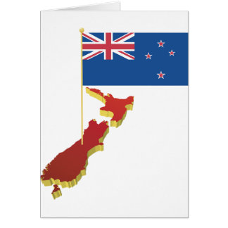 New Zealand Flag Note Cards