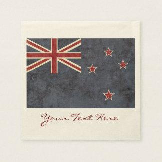 New Zealand Flag Party Napkins