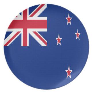 New Zealand Flag Plate