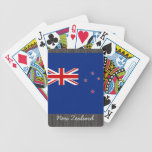 New Zealand Flag Playing Cards Bicycle Playing Cards