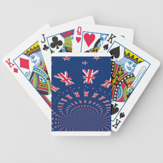 New Zealand flag.png Bicycle Playing Cards