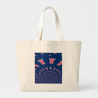 New Zealand flag.png Large Tote Bag