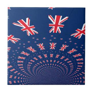 New Zealand flag.png Ceramic Tile