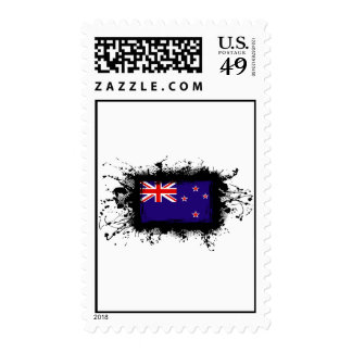 New Zealand Flag Stamps