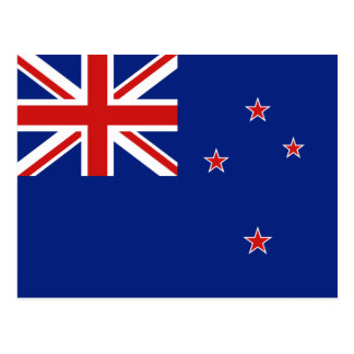 New Zealand Flag Postcard