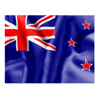 New Zealand Flag Postcard
