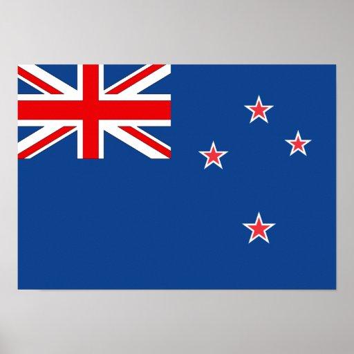 New Zealand Flag Print