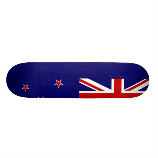 New Zealand Flag Skateboard Deck