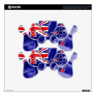 New Zealand Flag Skin For PS3 Controller
