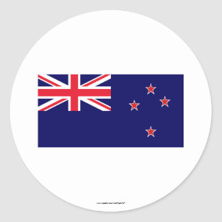 New Zealand Flag Stickers