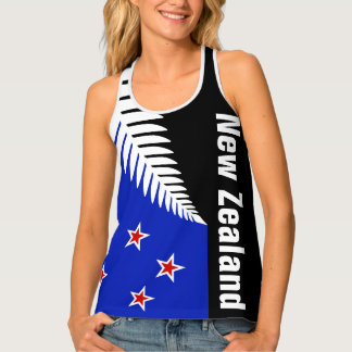 New Zealand flag Tank Top