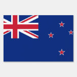 New Zealand Flag Yard Sign
