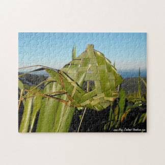 New Zealand Flax Weaving Jigsaw Puzzle