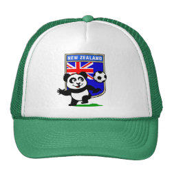 Trucker Hat with New Zealand Football Panda design