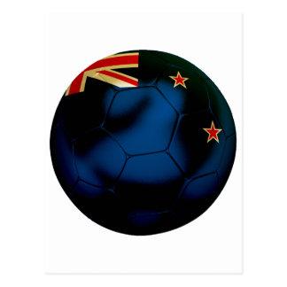 New Zealand Football Postcard