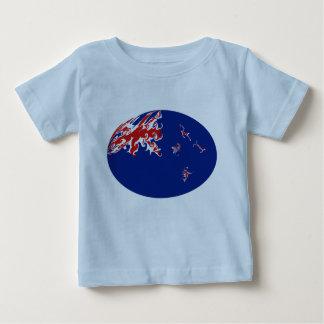 New Zealand Gnarly Flag T-Shirt