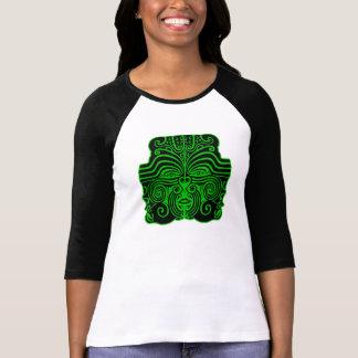 New Zealand green black mask women's t-shirt