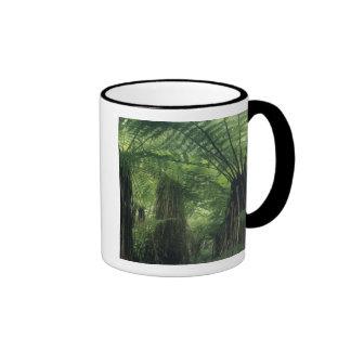 New Zealand, Haast Valley, Westland, Soft Tree Ringer Coffee Mug