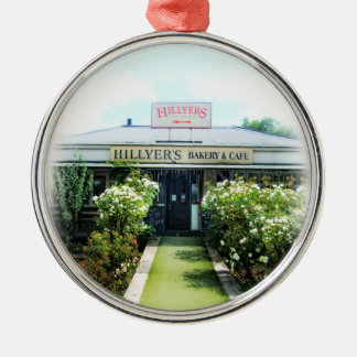 New Zealand Hillyer's Bakery&Cafe Metal Ornament