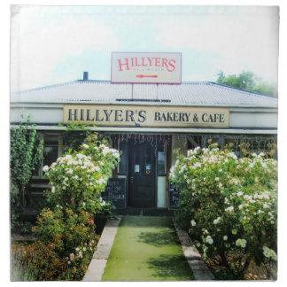 New Zealand Hillyer's Bakery&Cafe Napkin