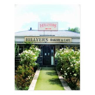 New Zealand Hillyer's Bakery&Cafe Postcard