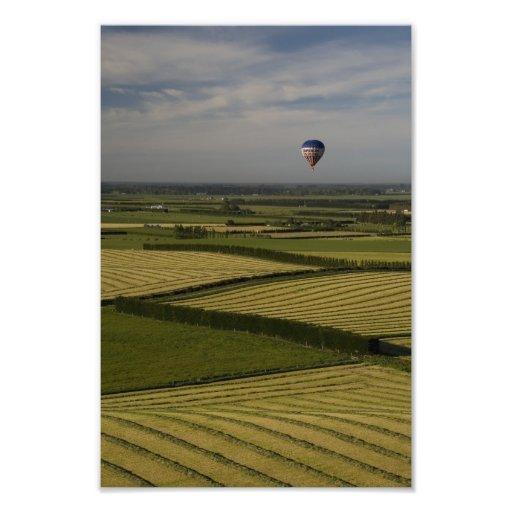 New Zealand Hot Air Balloon Photograph