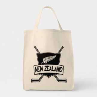 New Zealand Ice Hockey Shopping Bag