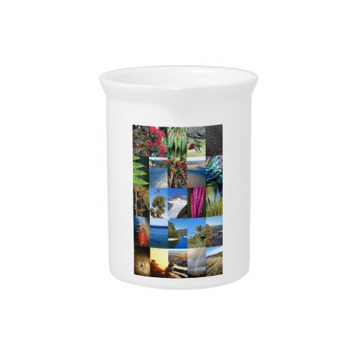 New Zealand iconic flora and lanscapes Drink Pitchers