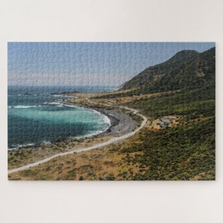 New Zealand Jigsaw Puzzle – Cape Palliser
