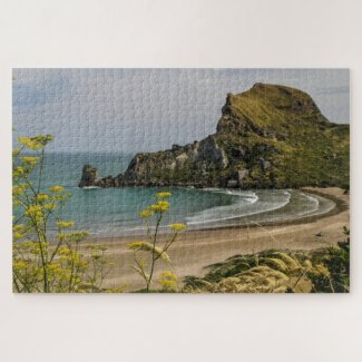 New Zealand Jigsaw Puzzle – Deliverance cove