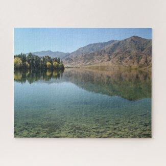New Zealand Jigsaw Puzzle - Lake Benmore