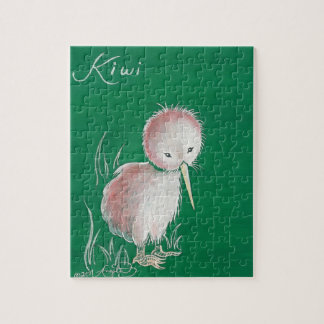 New Zealand Kiwi Bird Jigsaw Puzzle