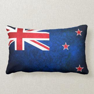 New Zealand; Kiwi Flag Pillow